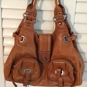 Francisco Biasia  Leather Hobo